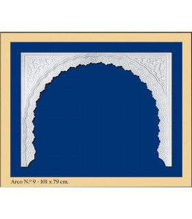 Arco Nº 9 - conception Andalusi - 101 x 79cm