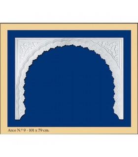 Arco Nº 9 - progettare Andalusi - 101 x 79cm