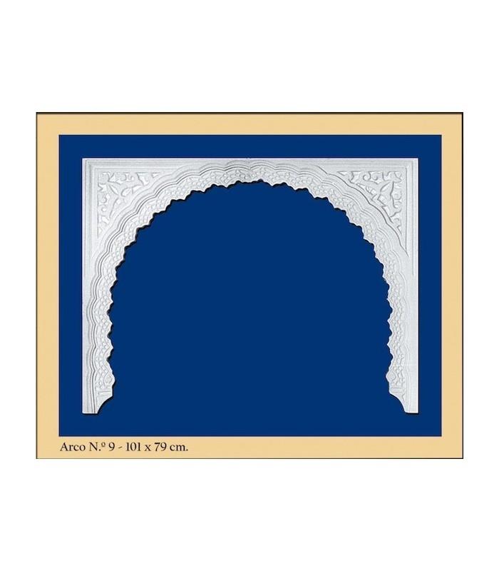 Arco Nº 9- Diseño Andalusí - 101 x 79cm
