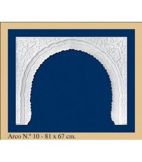 Arco Nº 10- Diseño Andalusí - 81 x 67cm
