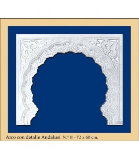 ARC non 12 - conception de Al-Andalus - 72 x 60 cm