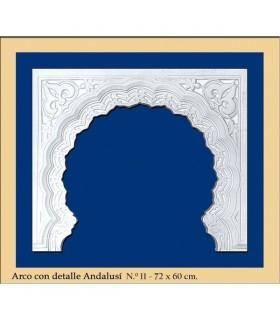 ARC No 12 - progettazione di Al-Andalus - 72 x 60 cm