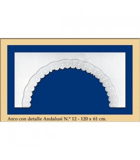 Arco Nº 13 - stile andaluso - 120 x 61 cm