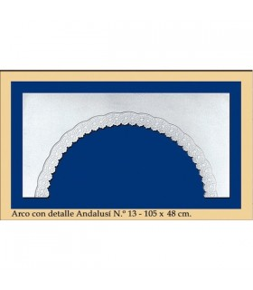 Arco Nº 14 - stile andaluso - 105 x 48 cm