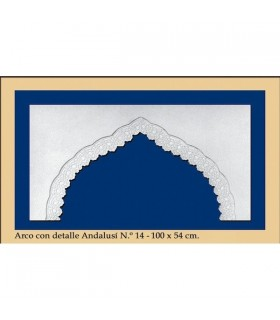 Arc design de no 15 - andalou - 100 x 54 cm