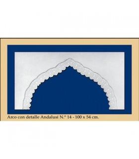Bogen Sie Nr. 15 - andalusischen Design - 100 x 54 cm