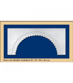 N16 - Andalusian design arc - 90 x 46 cm