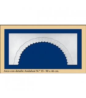 N16 - arc de conception andalouse - 90 x 46 cm