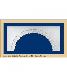 Bow N ° 17 - Andalusian design - 100 x 48 cm