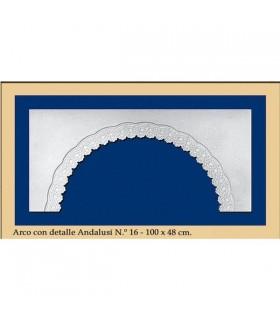 Bow N ° 17 - andalusischen Design - 100 x 48 cm