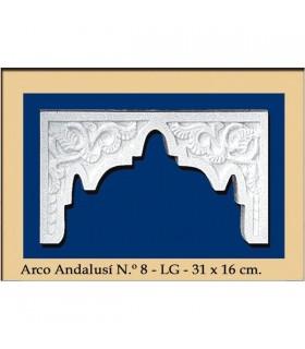 Arco Nº 18 - Andalusian design - 31 x 16 cm