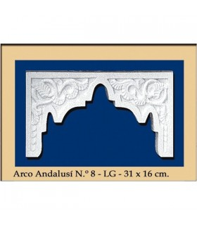Arco Nº 18 - stile andaluso - 31 x 16 cm