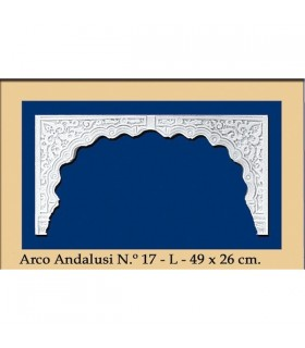 Arco design n ° 19 - andaluso - 49 x 26 cm