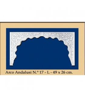 Bogen Sie Nr. 19 - andalusischen Design - 49 x 26 cm
