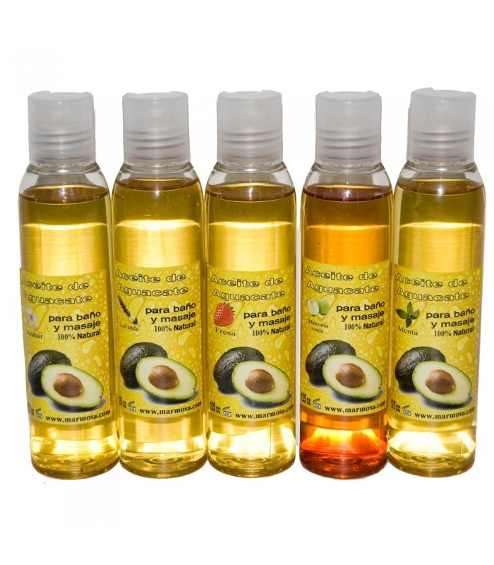 Aceite De Aguacate Corporal Con Esencia 125 ml. - Baño y Masaje