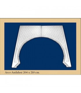 Arco Nº 21 - progettare Andalusi - 204 x 210cm
