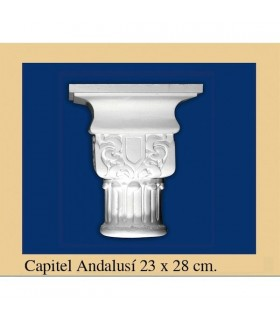Capital N ° 1 - design Andalusi - 23 x 28cm