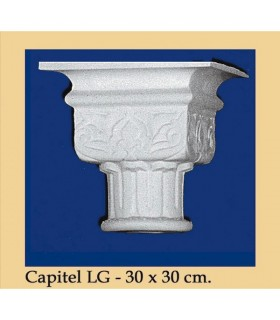 Capital N ° 4 - design Andalusi - 30 x 30cm