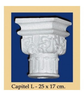 Capital N ° 6 - design Andalusi - 25 x 17cm