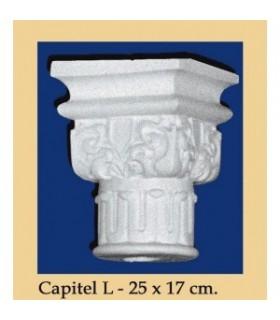 Capital N ° 6 - design Andalusi - 25 x 17cm