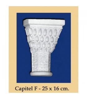 Capital N ° 7 - design Andalusi - 25 x 16cm