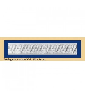 Сталагмит Andalusi - штукатурка - 105 x 16 см