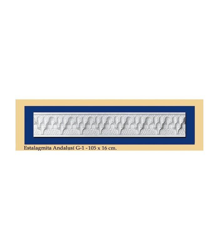 Stalagmite Andalusi - Plaster - 105 x 16 cm