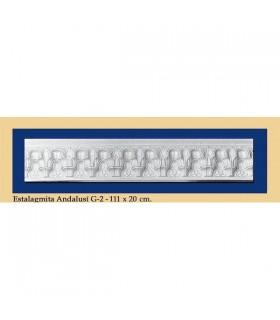 Stalagmite Andalusi - intonaco - 111 x 20 cm
