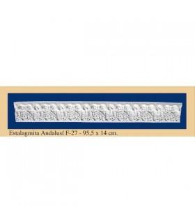 Stalagmite Andalusi - intonaco - 95.5 x 14 cm