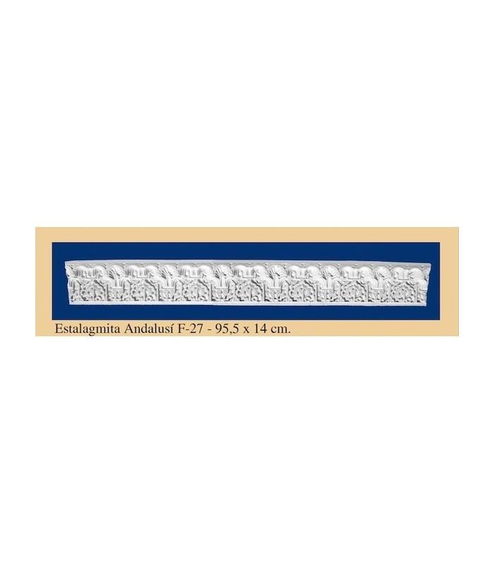 Stalagmite Andalusi - It plaster - 95.5 x 14 cm