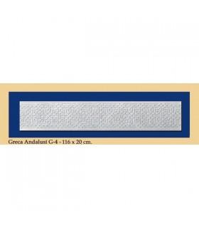 Greca Andalusi - штукатурка - 116 x 20 см