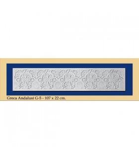 Greca Andalusi - plâtre - 107 x 22 cm