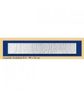 Leyenda Andalusi - Escayola - 99 x 16 cm
