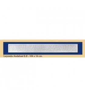 Leyenda Andalusi - Escayola - 104 x 14 cm
