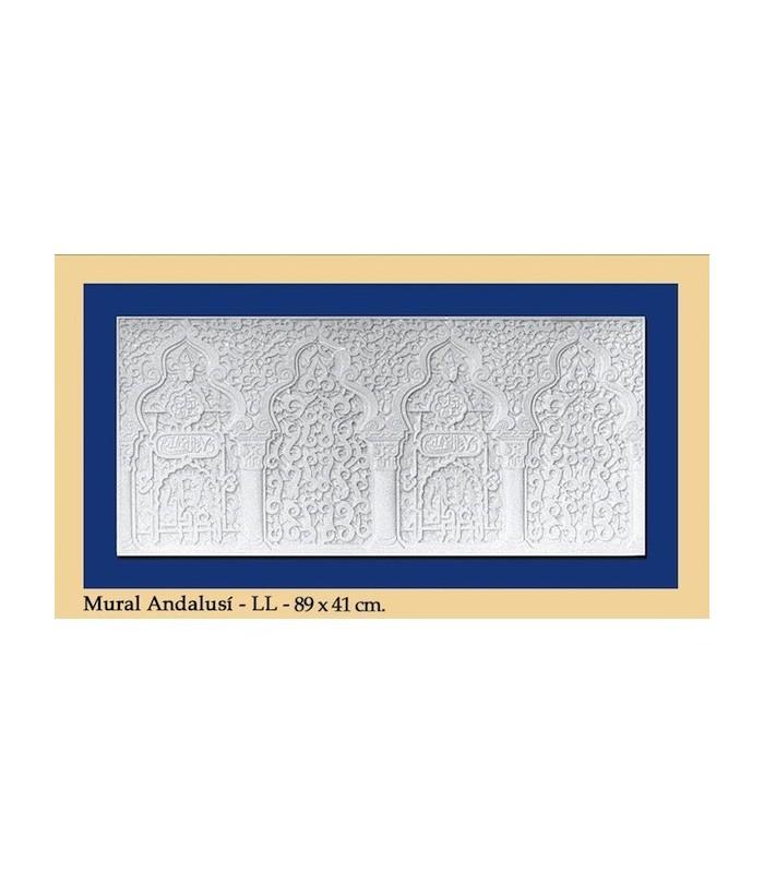Mural Andalusi - Escayola - 89 x 41 cm