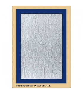Andalusian wall - Plaster - 97 x 59 cm