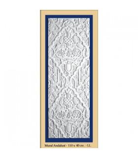 Parede andaluz - gesso - 110 x 40 cm