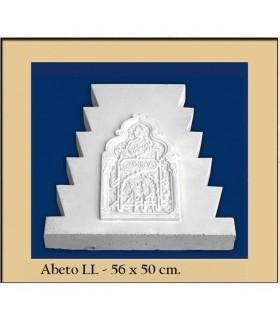 Andalusische FIR - Putz - 56 x 50 cm