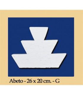 Andalusische FIR - Putz - 26 x 20 cm