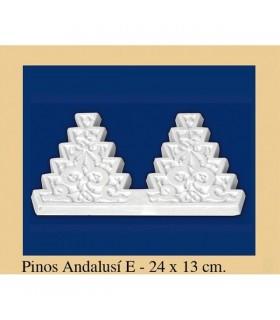Pino Andalusi - Escayola - 24 x 13 cm