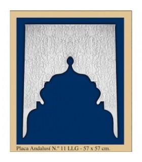 Placa Andalusi - gesso - 57 x 57 cm