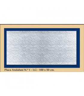 Piastra Andalusi - intonaco - 100 x 50 cm