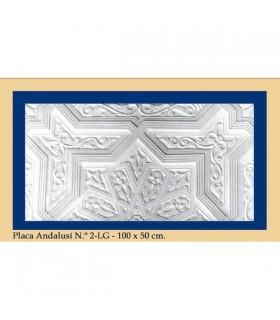Placa Andalusi - gesso - 100 x 50 cm