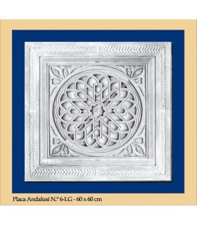 Placa Andalusi -Escayola - 60 x 60 cm