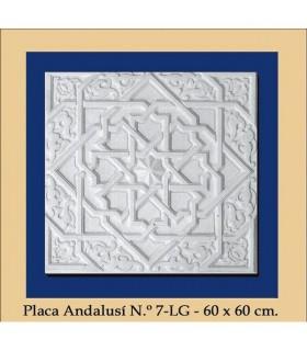 Platte Andalusi - Putz - 60 x 60 cm
