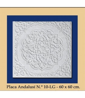 Plate Andalusi - Plaster - 60 x 60 cm