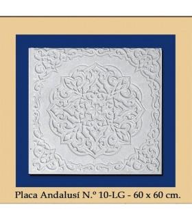 Placa Andalusi - gesso - 60 x 60 cm