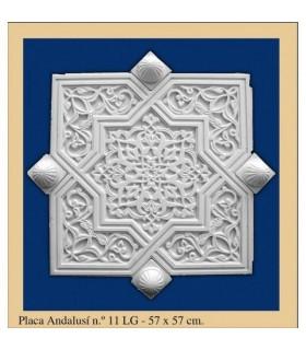 Placa Andalusi -Escayola - 57 x57 cm