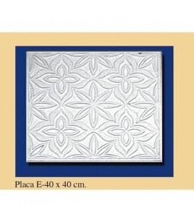 Placa Andalusi - gesso - 40 x 40 cm