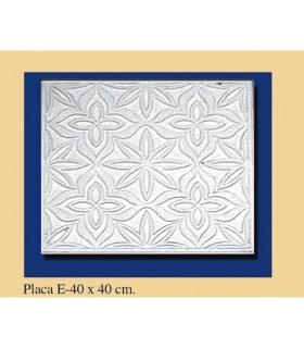 Placa Andalusi -Escayola - 40 x 40 cm